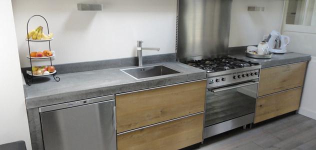 betonnen keuken werkbladen